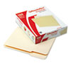 File Folders, 1/3 Cut, First Position, Top Tab, Letter, Manila, 100/Box