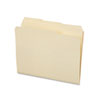 File Folders, 1/3 Cut Top Tab, Letter, Manila, 100/Box