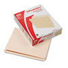 File Folders, Straight Cut, Top Tab, Letter, Manila, 100/Box