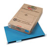 Earthwise 100% Recycled Paper Hanging Folders, Kraft, Legal, Blue, 25/Box