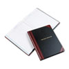Visitor Register Book, Black/Red Hardcover, 150 Pages, 14 1/8 x 10 7/8
