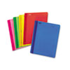 "Polypropylene Report Cover, Tang Clip, Letter, 1/2"" Capacity, Assorted, 25/Box"