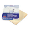 Top Tab File Guides, Blank, 1/3 Tab, 18 Point Manila, Letter, 100/Box