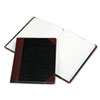 Log Book, Record Rule, Black/Red Cover, 150 Pages, 10 3/8 x 8 1/8