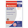 Electrolux Sanitaire Eureka Disposable Bags for SC600 & SC800 Series Vacuums, 5/Pack