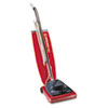 Sanitaire Vacuum with Vibra-Groomer II, 16lb, Red
