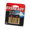 Gold Alkaline Batteries, 9V, 2 Batteries/Pack