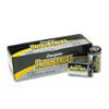 Energizer Industrial Alkaline Batteries, D, 12 Batteries/Box