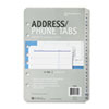 Address/Phone Refill for Organizer, A-Z Tabs, 5-1/2 x 8-1/2