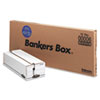 Liberty Storage Box, Check/Voucher, 9 x 23-1/4 x 5-3/4, White/Blue, 12/Carton