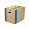 Bankers Box SmoothMove Prime Split Hinge Lid Moving Boxes, 18l x 18w x 24h, Kraft, 6/Carton