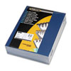Fellowes Linen Texture Binding System Covers, 11 x 8-1/2, Navy, 200/Pack