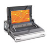 Galaxy Comb Binding System, 500 Sheets, 19-5/8w x 17-3/4d x 6-1/2h, Gray