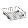 Fellowes Front Load Wire Desk Tray, Wire, Black