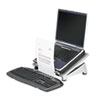 Office Suites Laptop Riser Plus, Copyholder, 15 1/8 x 11 3/8 x 6 1/2, Black