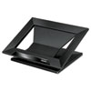 Designer Suites Laptop Riser, 13 1/8 x 11 1/8 x 4, Black