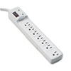 Advanced Computer Series Surge Protector, 7 Outlets, 6ft Cord