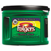 Folgers Ground Coffee, Classic Roast Decaffeinated, Ground, 22 3/5oz, Can, 6/Carton