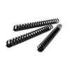 "CombBind Standard Spines, 2"" Diameter, 425 Sheet Capacity, Black, 50/Box"