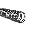 "WireBind Spines, 3/8"" Diameter, 75 Sheet Capacity, Black, 100/Box"