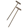 GEM T-Pins, Steel, Silver, 1 1/2