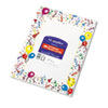 Design Paper, 24 lbs., Party, 8-1/2 x 11, White, 100/Pack