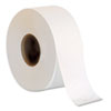 "Jumbo Jr. One-Ply Bath Tissue Roll, 9"" dia, 2000 ft, 8 Rolls/Carton"