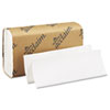 Folded Paper Towel, 9-1/4 x 9-1/2, White, 250/Pack, 16/Carton