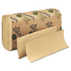 envision Multifold Paper Towel, 9-1/5 x 9-2/5, Brown, 250/Pack, 16/Carton