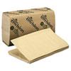 Georgia Pacific Professional 1 Fold Paper Towel, 10 1/4 x 9 1/4, Brown, 250/Pack, 16 Packs/Carton