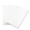 Georgia Pacific Professional 1/8 Fold Dinner Napkins, 15 x 16, White, 100/Pack
