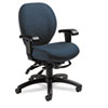 Global Mallorca Mid-Back Multi-Tilt Chair, 20-1/2 x 20-1/2 x 39-1/2, Atmosphere Blue
