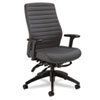 Aspen Series High-Back Multi-Tilt Chair, Onyx Vinyl