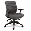 Global Aspen Series Mid-Back Multi-Tilt Chair, Onyx Vinyl