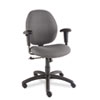 Global Graham Series Pneumatic Ergo-Tilter Swivel/Tilt Chair, Graphite Fabric