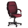 Commerce Series High-Back Swivel/Tilt Chair, Rhapsody Burgundy Fabric