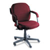 Global Commerce Series Low-Back Swivel/Tilt Chair, Rhapsody Burgundy Fabric