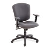 Global Supra X Series Medium-Back Tilter Chair, Stone Fabric