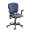 Global Supra X Series Medium-Back Tilter Chair, Ocean Fabric