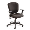 Supra X Medium-Back Tilter Chair, Asphalt Fabric
