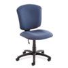 Global Supra X Series Medium-Back Task Chair, Ocean Upholstery Fabric