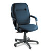 Air Support Series Executive High-Back Swivel/Tilt Chair, Ocean Blue Fabric
