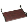 Genoa Series Pullout Keyboard Shelf, 20w x 11d, Mahogany