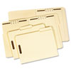 Folder, One Fastener, 1/3 Cut Top Tab, Letter, 18 Point, Manila, 50/Box