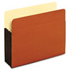 Standard File Pockets, Tyvek, 3 1/2 Inch expansion, Letter, Brown, 10/Box