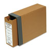 "Recycled Fiberboard Binding Case, 11 x 8-1/2, 2-1/2"" Capacity, Kraft"
