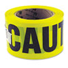 "Caution Safety Tape, Non-Adhesive, 3"" x 1000'"