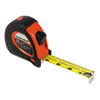Sheffield ExtraMark Tape Measure, 1&quot; x 25ft.