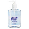 PURELL Instant Hand Sanitizer, 8-oz. Pump Bottle, 12/Carton