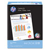 HP Office Paper, 92 Brightness, 20lb, 8-1/2 x 14, White, 500 Sheets/Ream